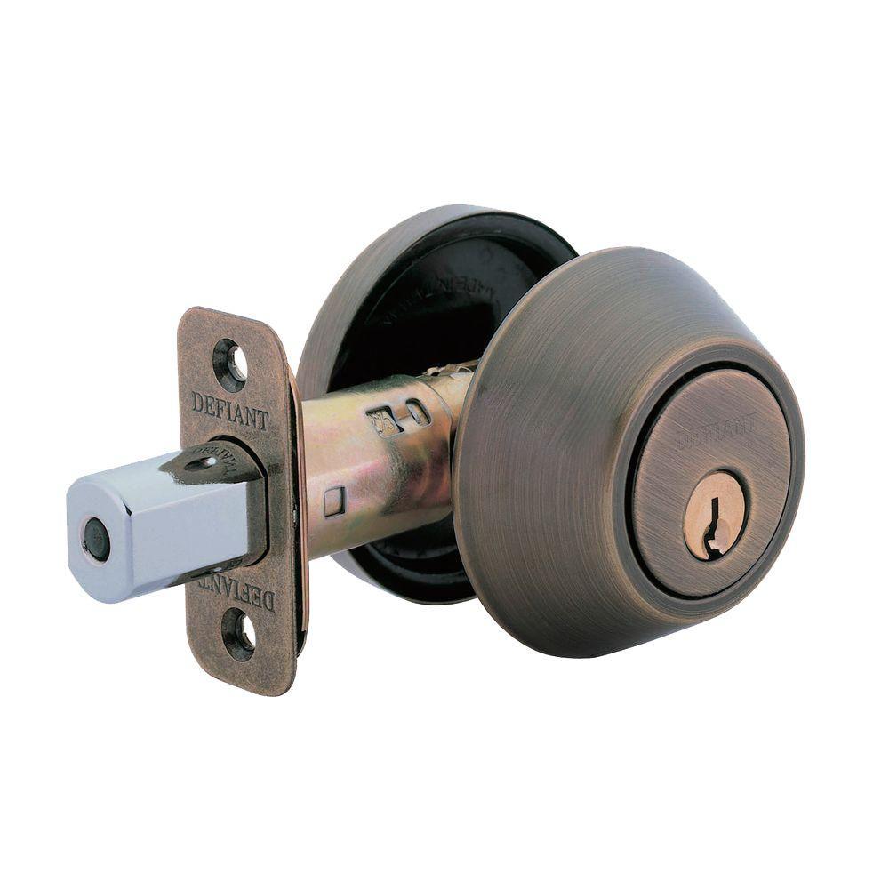 Antique Brass - Door Locks & Deadbolts - Door Knobs & Hardware ...
