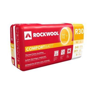 ComfortBatt 7-1/4 in. x 15-1/4 in. x 47 in. R-30 Fire Resistant Insulation for Attics and Ceilings (12-Bags)