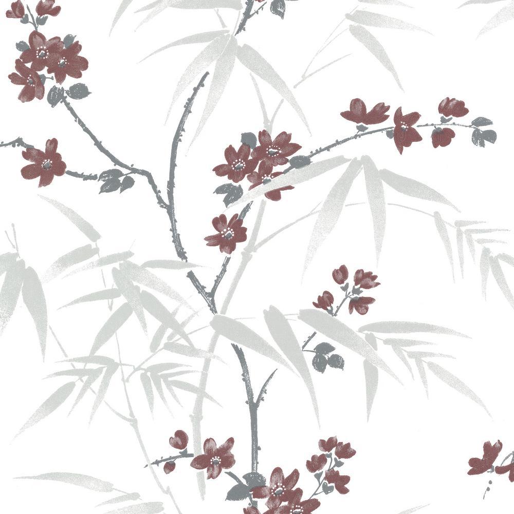 Yoshino White Cherry Blossom Wallpaper Sample