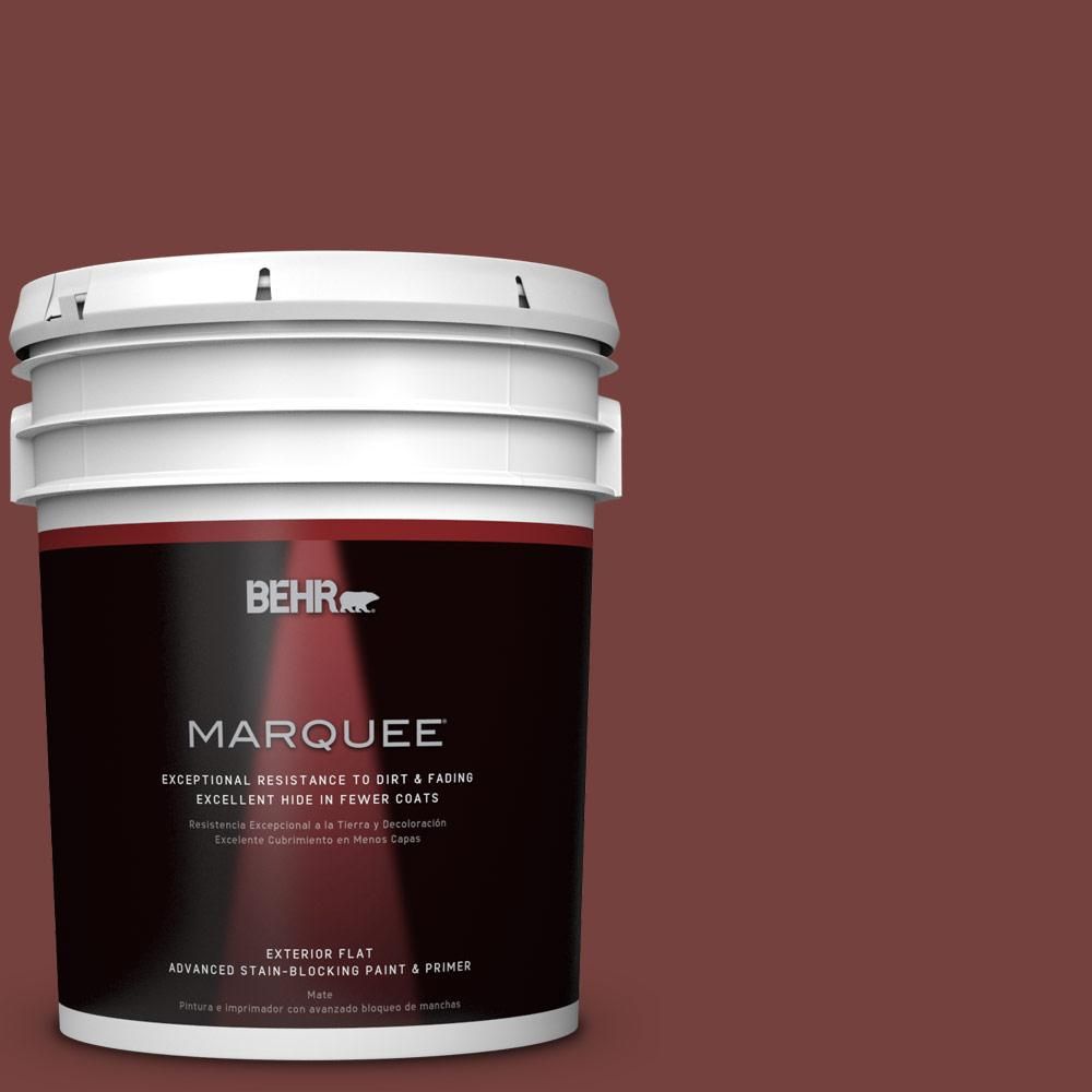 5-gal. #PMD-89 Decadence Flat Exterior Paint