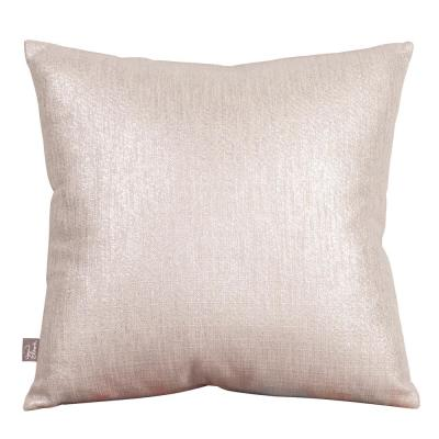 Glam Sand Solid Polyester 2 in. x 20 in. Throw Pillow