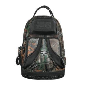 Klein Tools 20 in. Tradesman Pro Organizer Tool Backpack - Camo-55421BP14CAMO - The Home Depot