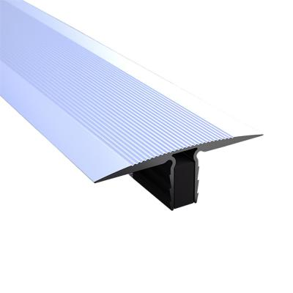 Novojunta Pro Decor Natural 2-3/4 in. x 98-1/2 in. Aluminum Expansion Joint