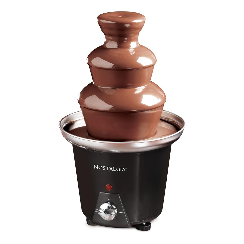 Nostalgia Chocolate Fountain Cff 965 The Home Depot