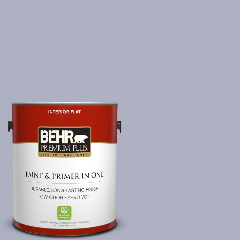 BEHR Premium Plus 1-gal. #S550-3 Chivalrous Flat Interior Paint