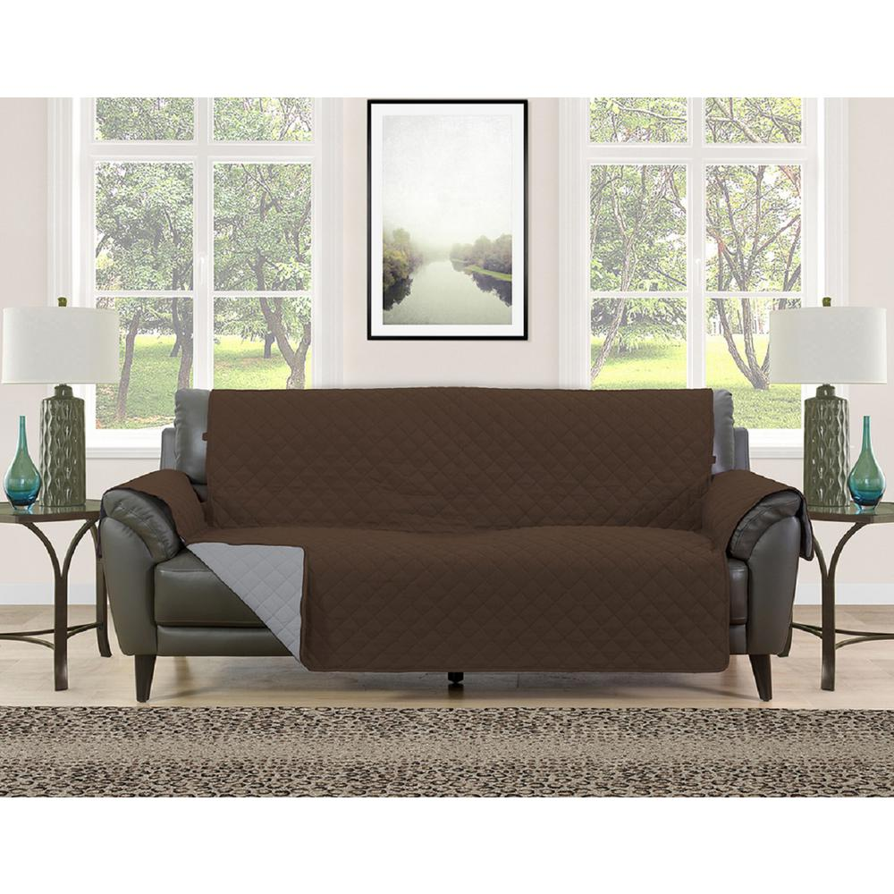 Bon This Review Is From:Barrett Burgundy/Brown Microfiber Reversible Couch  Protector