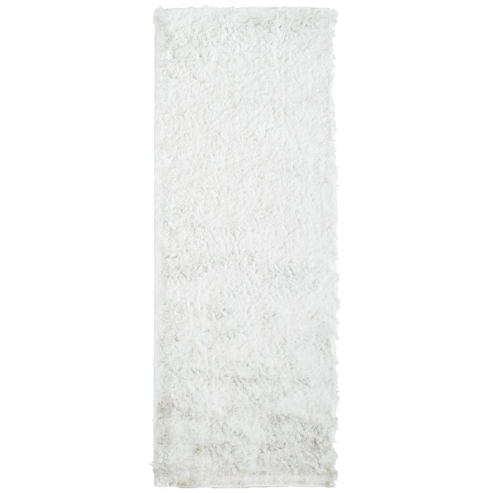 Home Decorators Collection So Silky White 5 ft. x 14 ft. Rug Runner