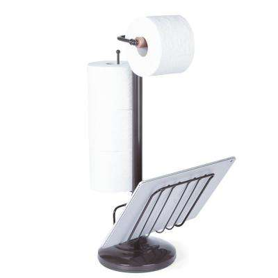 Toilet Caddy in Oil Rubbed Bronze