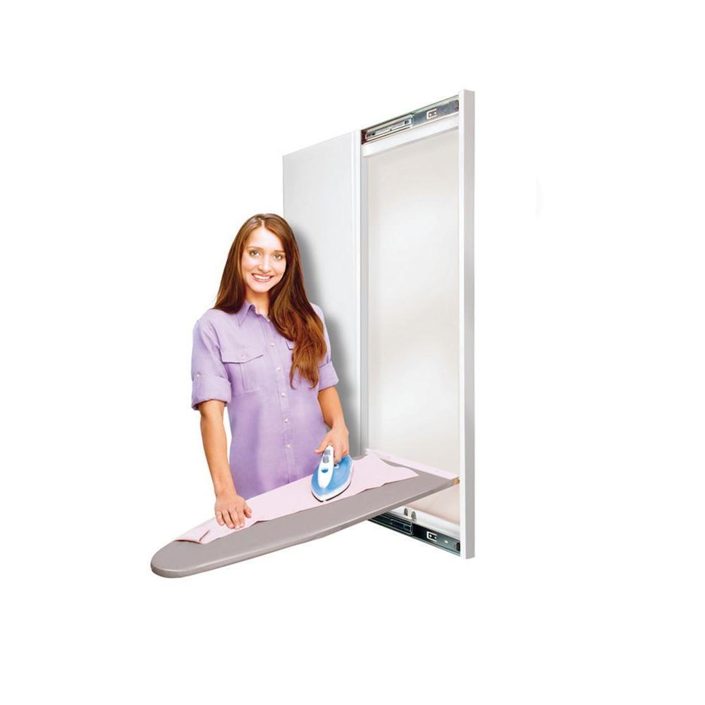 Hide-Away Slim-Line with Solid Door-DISCONTINUED