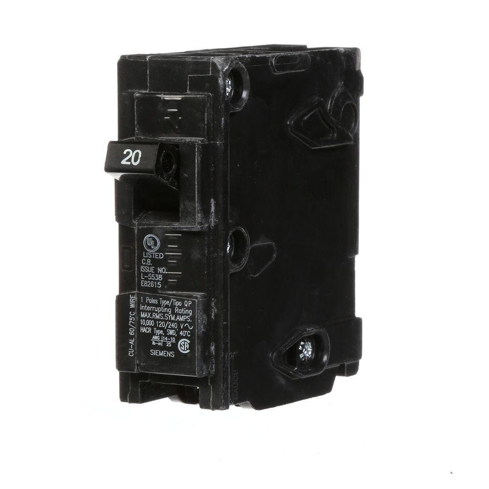 murray 1 pole breakers mq120 64_1000 square d homeline 20 amp single pole gfci circuit breaker qo260gfi wiring diagram at couponss.co