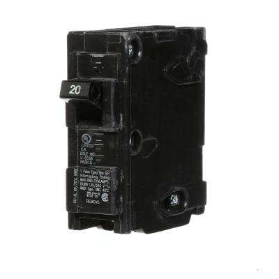 20 Amp Single-Pole Type MSQ QO Replacement Circuit Breaker