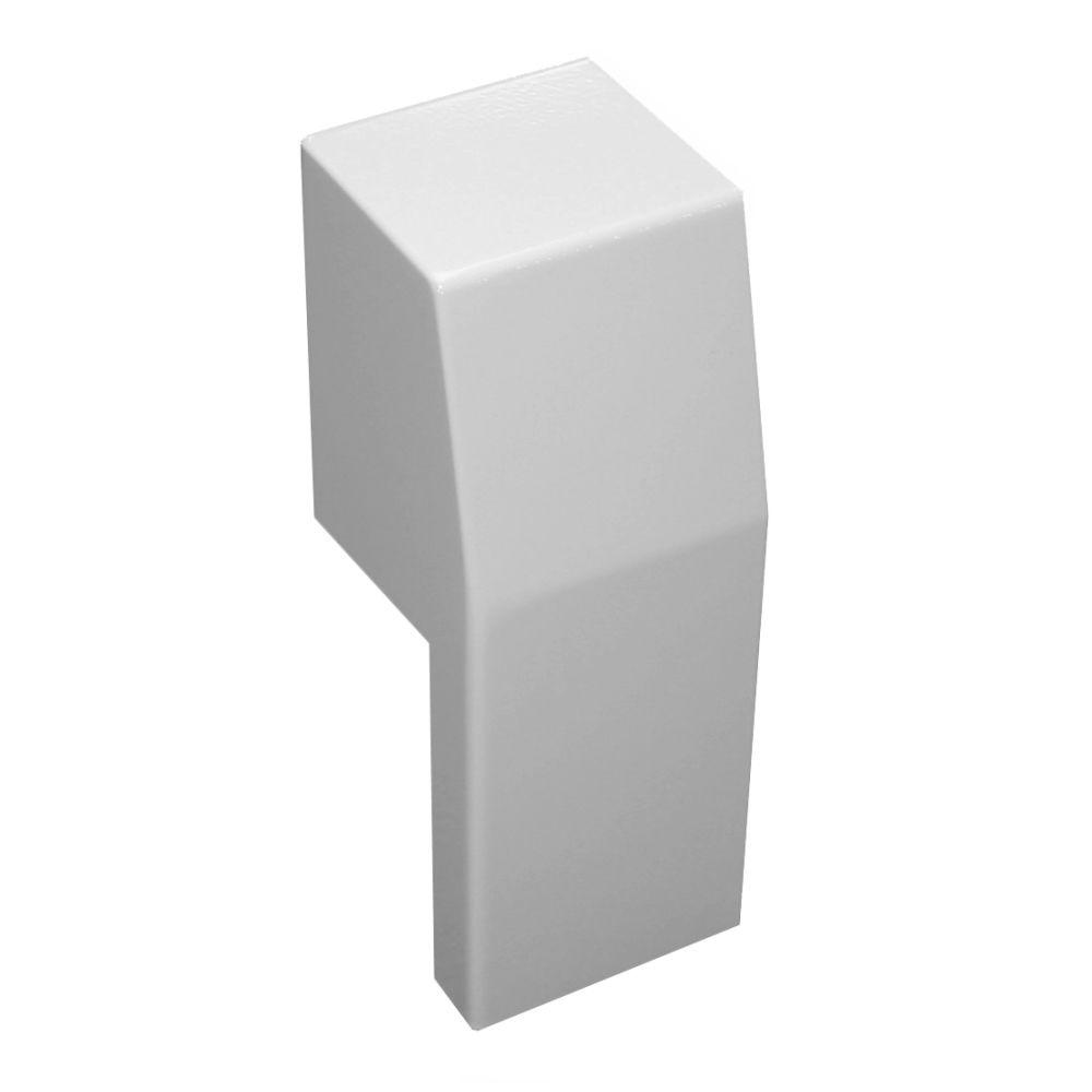 Premium Series Steel Easy Slip-On Baseboard Heater Cover Left Side Open