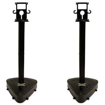 X-Treme Duty Stanchion - Black (2-pack)