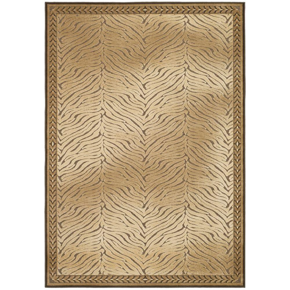 Paradise Brown 5 ft. 3 in. x 7 ft. 6 in.