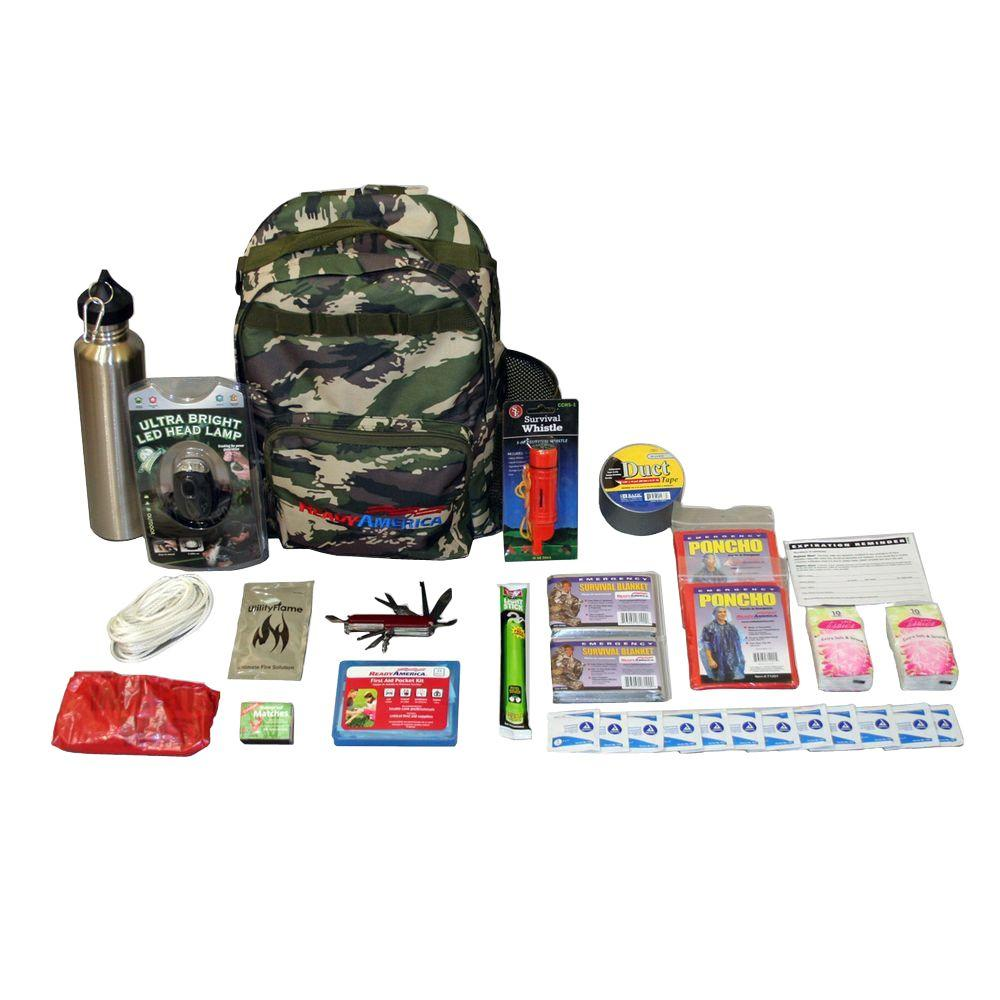 2-Person Essentials Outdoor Survival Kit