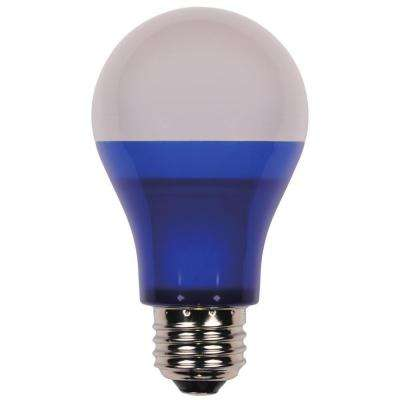 40W Equivalent Blue Omni A19 LED Indoor/Outdoor Party Light Bulb
