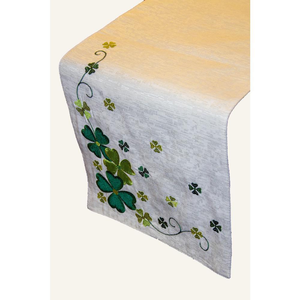 Clover Vine 100% Polyester Table Runner