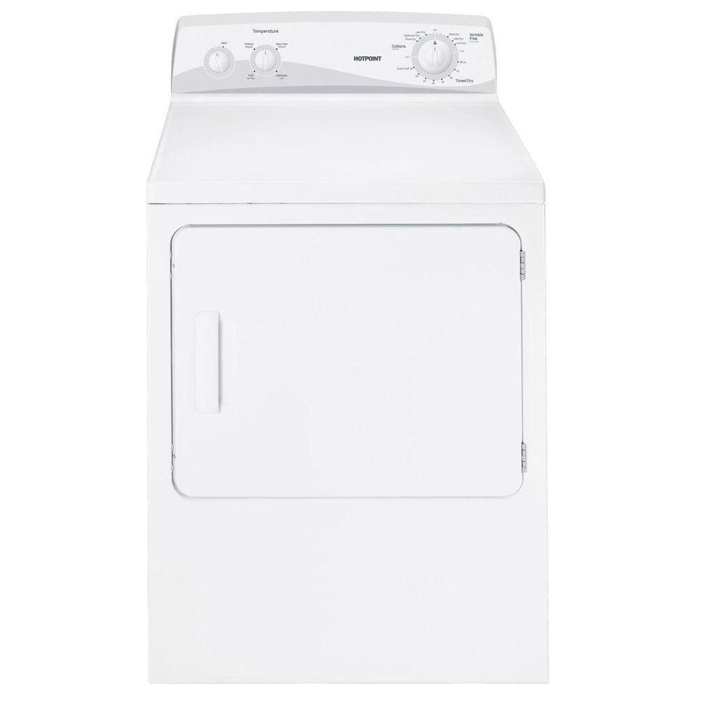 Hotpoint 6.8 cu. ft. Electric Dryer in White
