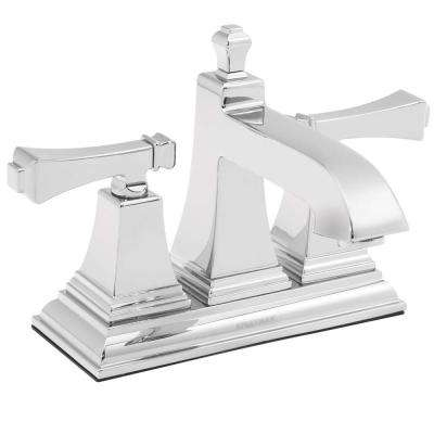 Rainier 4 in. Centerset 2-Handle Bathroom Faucet in Polished Chrome