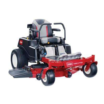 TimeCutter MX5075 with MyRIDE Suspension System 50 in. Fab 24.5 HP V-Twin Gas Dual Hydrostatic Zero Turn Riding Mower