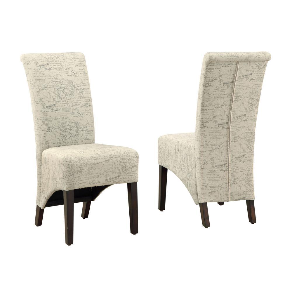 Beige Dining Chair (2-Piece)