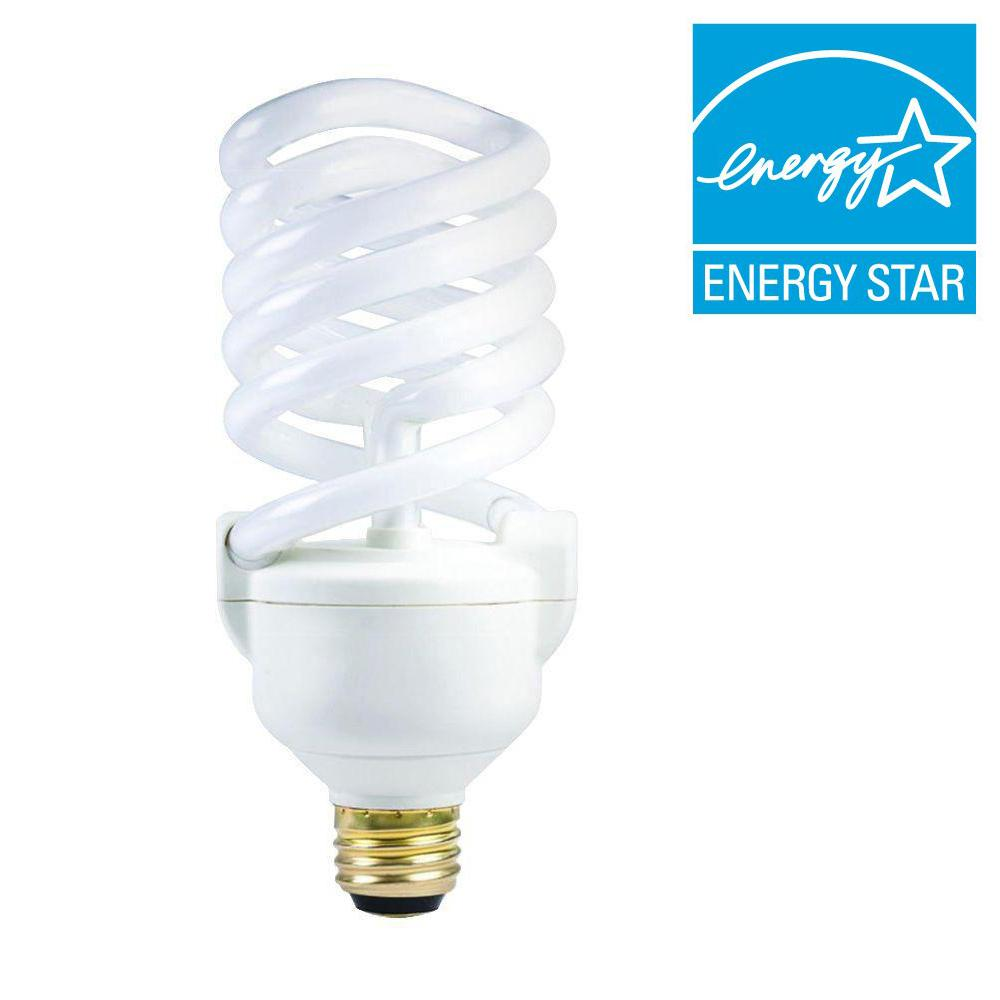 Philips 50-100-150W Equivalent Soft White (2700K) Spiral 3-Way CFL Light Bulb (6-Pack)