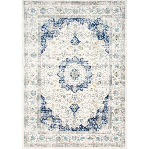 Verona Blue 5 ft. x 7 ft. Area Rug