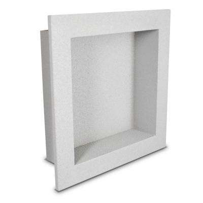 12 in. x 12 in. x 3.5 in. Shower Niche in Gray