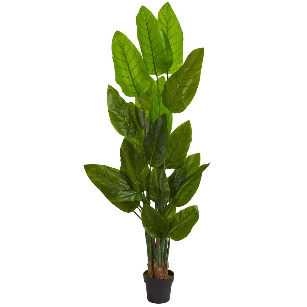 Nearly Natural Indoor 6 Ft Canna Artificial Tree 5599