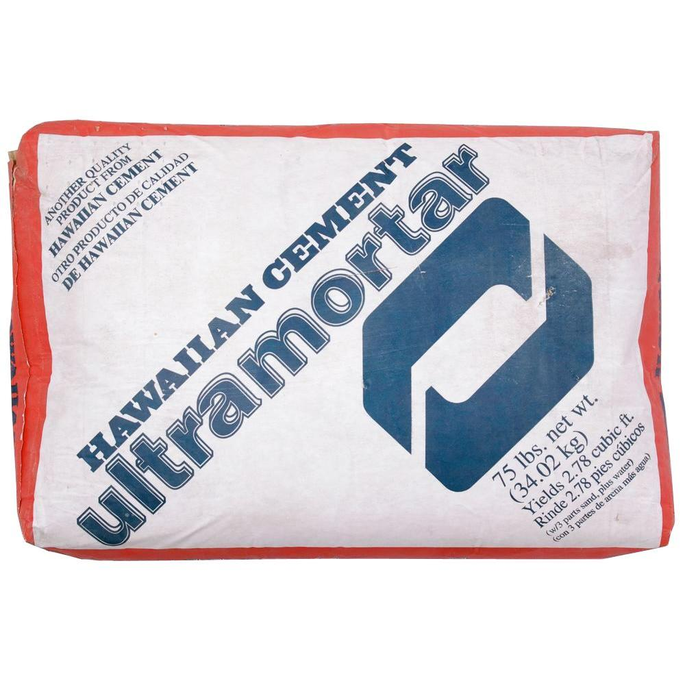 Quikrete 75 lb. Hawaiian Cement Ultra Mortar Mix
