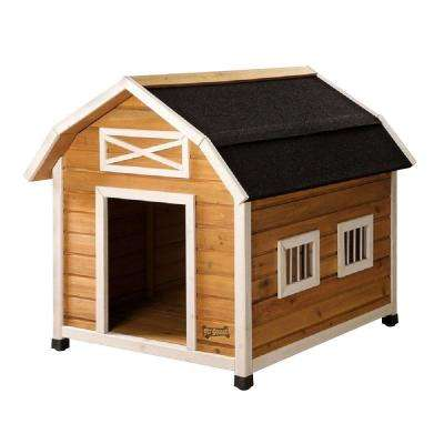 3.2 ft. L x 2.6 ft. W x 2.8 ft. H Large the Barn Dog House