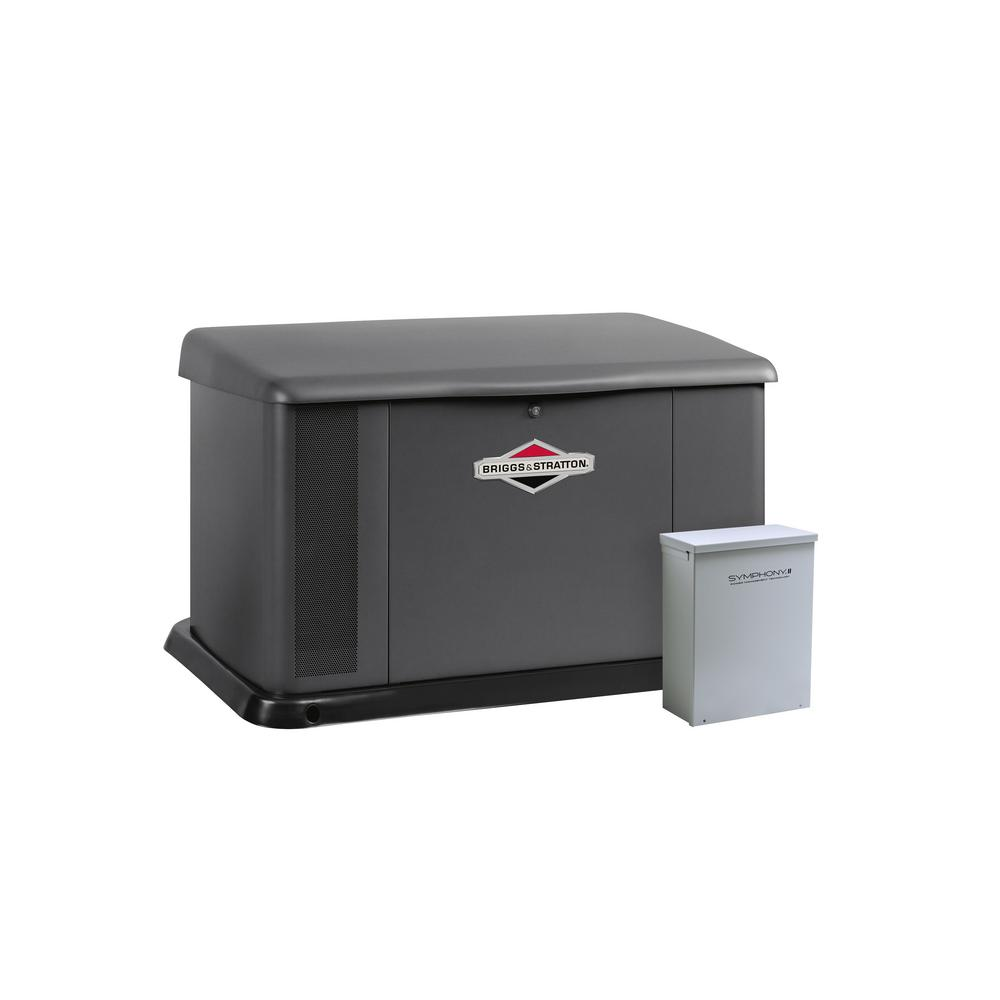 17,000-Watt Air Cooled Home Standby Generator with 100 Amp Symphony II