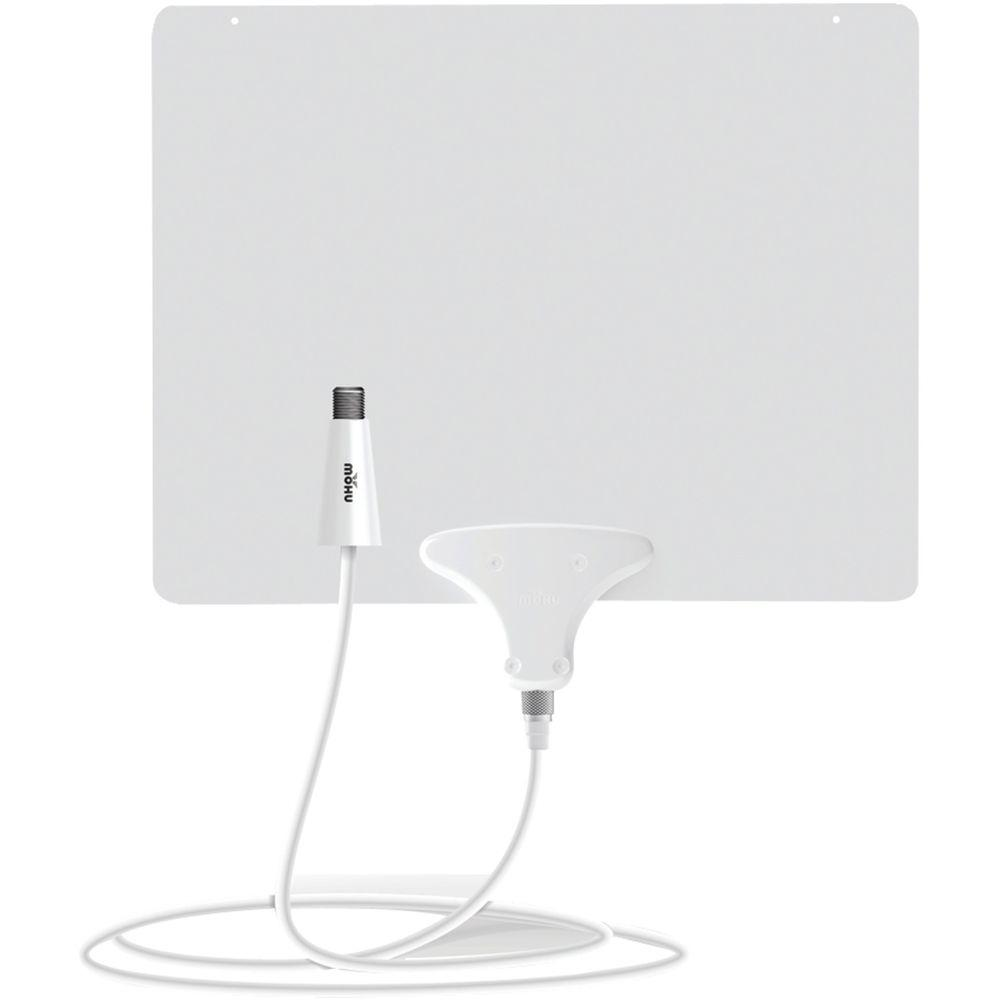 Mohu Leaf 50 Amplified Indoor Hdtv Antenna Mh 110584 The Home Depot