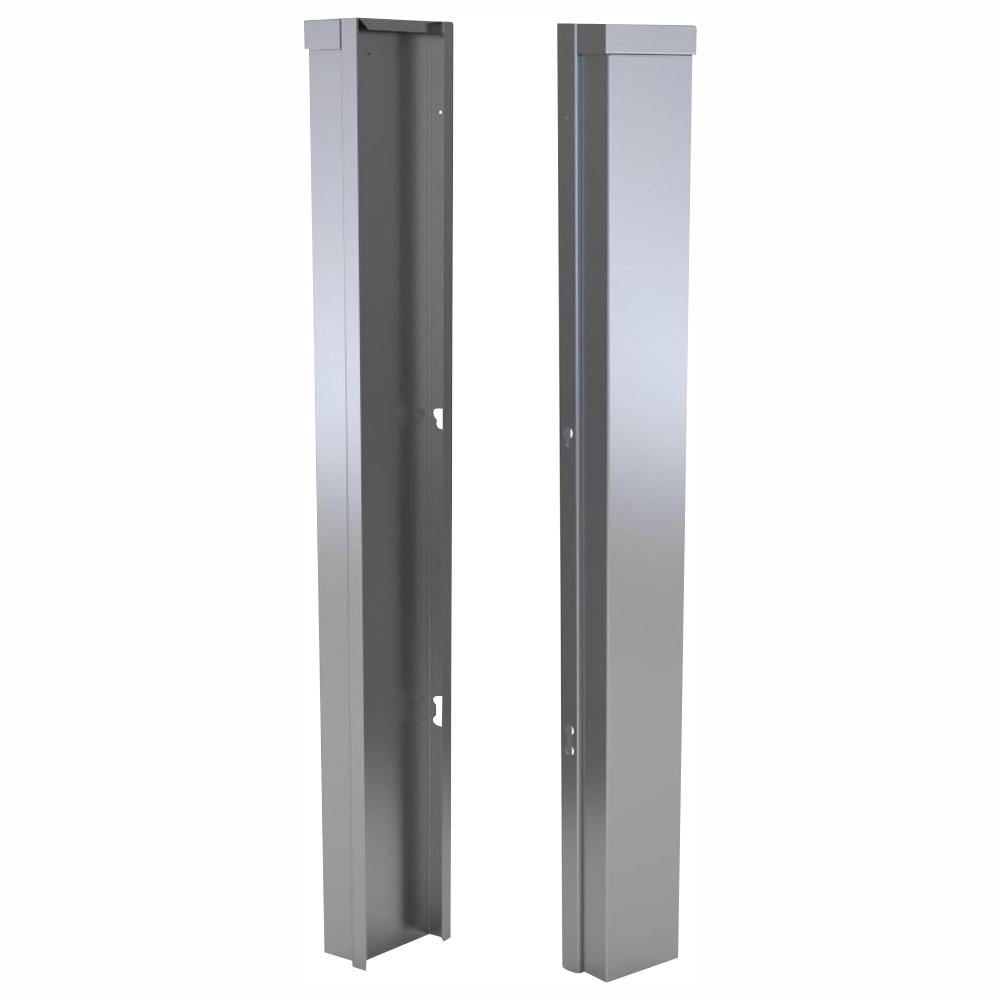 Sunstone Stainless Steel 3 In X 34 5 In X 1 5 In Outdoor Kitchen Cabinet End Corner Guard Panel For Right Side Of Base Cabinet