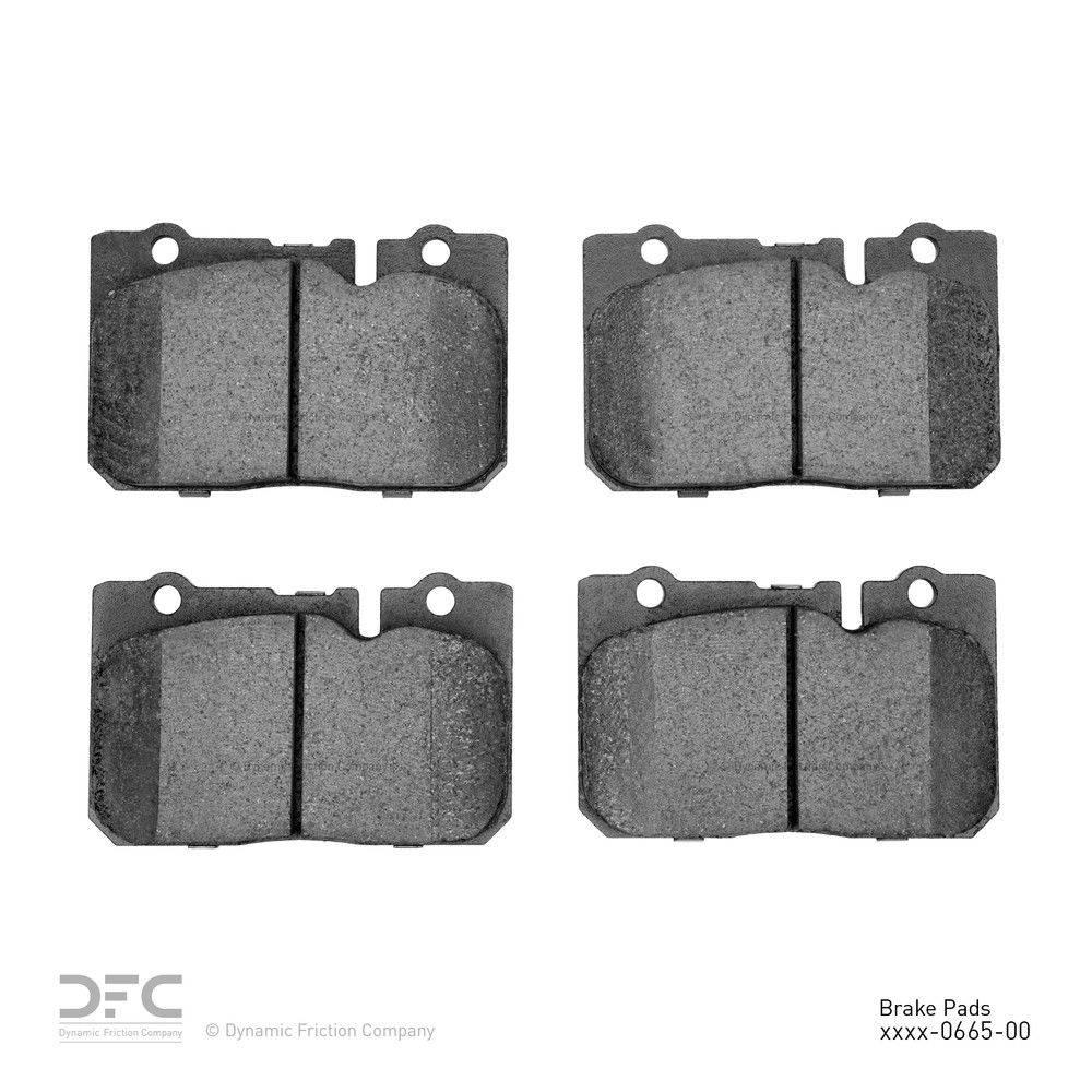 Dynamic Friction Company Dfc 5000 Advanced Brake Pads Ceramic 1995 2000 Lexus Ls400 1551 0665 00 The Home Depot