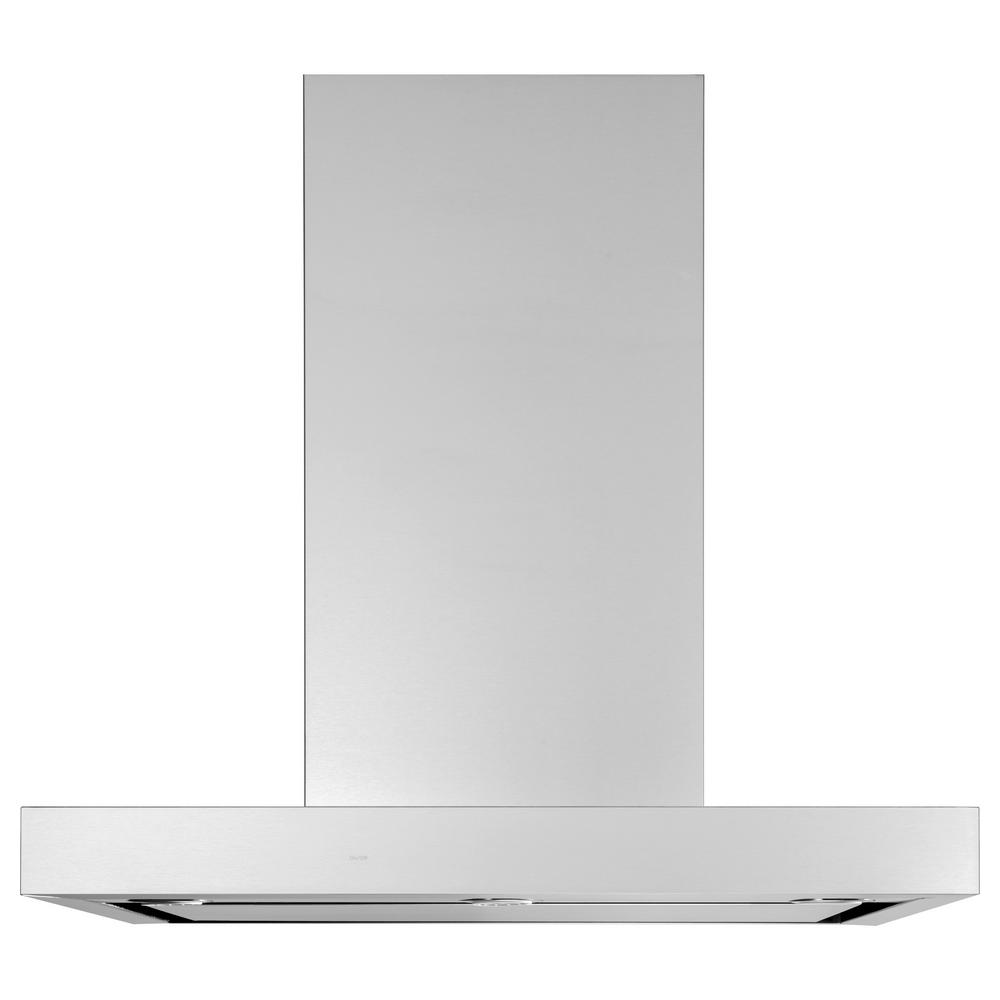 Profile 36 in. Wall Mount Range Hood with Light in Stainless