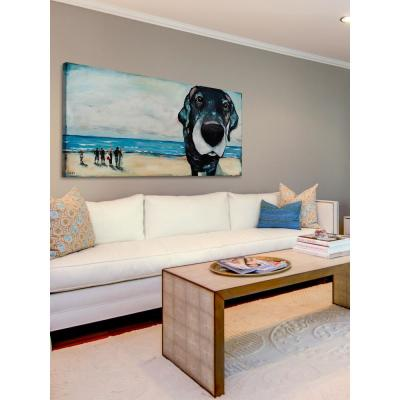 """12 in. H x 24 in. W """"Macdaddy"""" by Tori Campisi Printed Canvas Wall Art"""