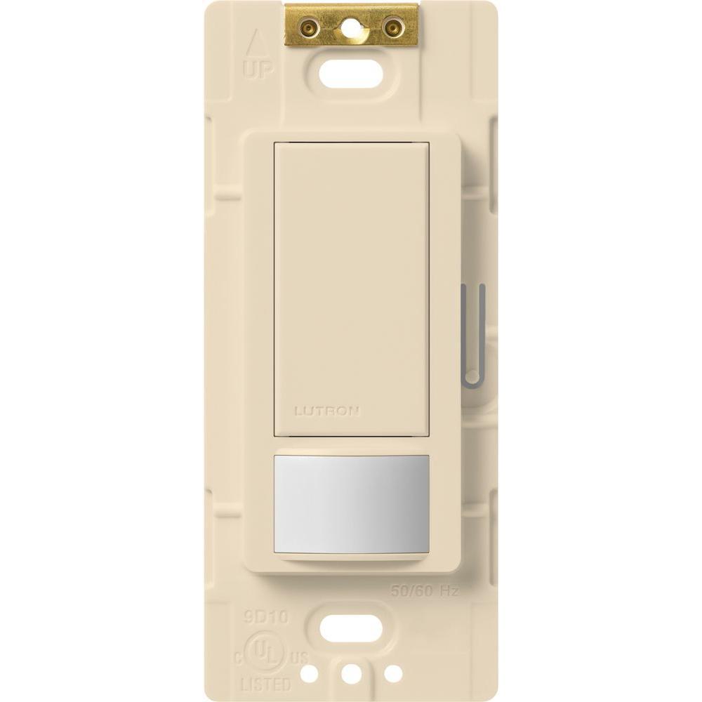 Maestro Motion Sensor switch, 5-Amp, Single-Pole or Multi-Location, Eggshell