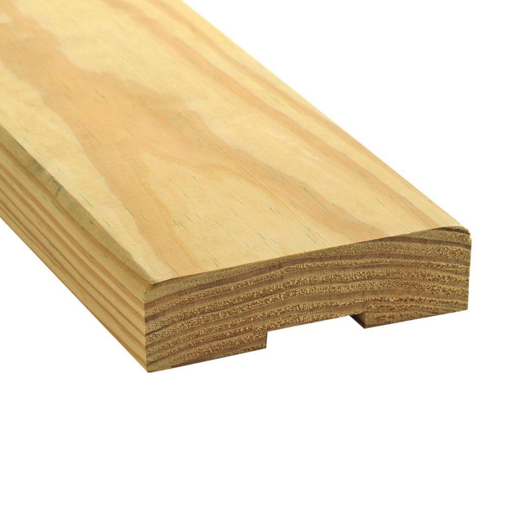 WeatherShield 2 in  x 6 in  x 16 ft  Premium Kiln-Dried Decking  Pressure-Treated Lumber