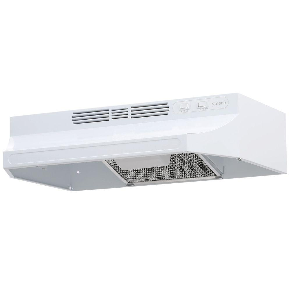 Non Vented Range Hood In White