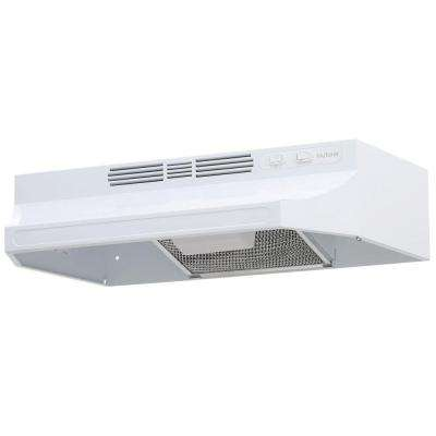 RL6200 24 in. Non-Vented Range Hood in White