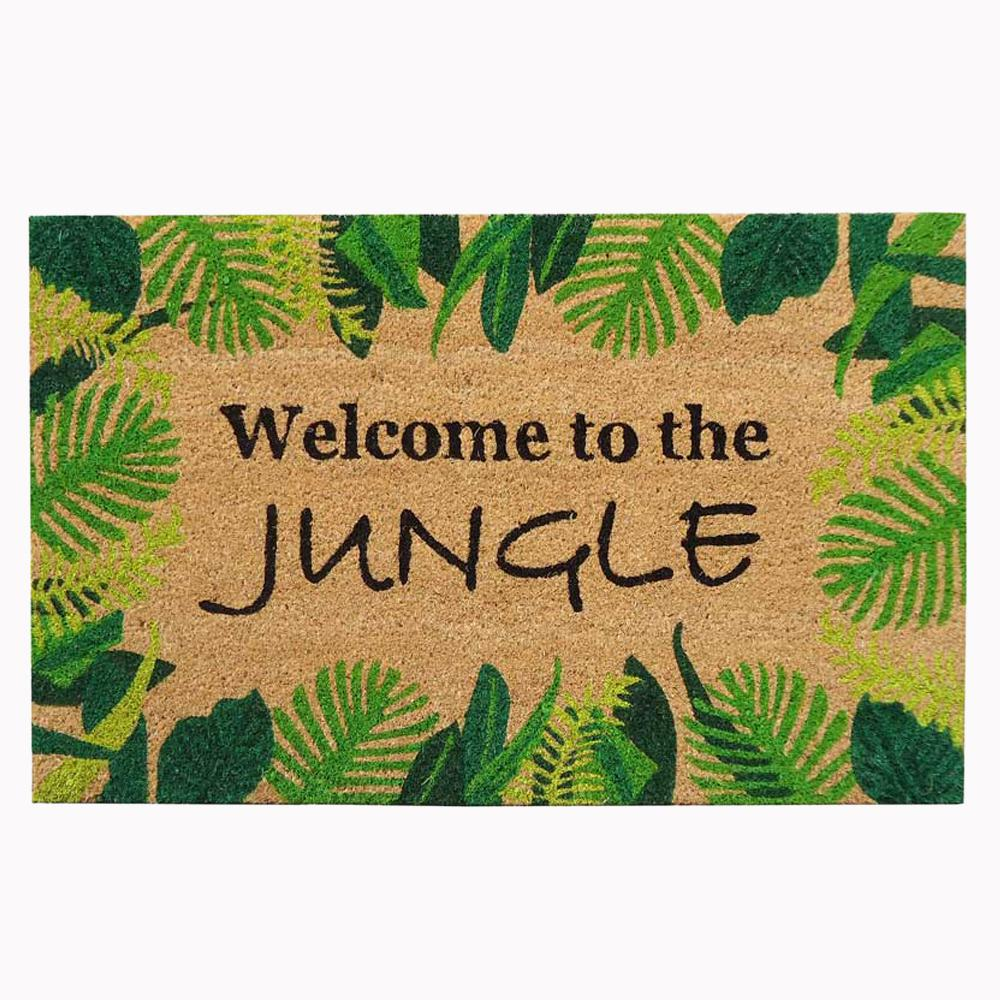 Nedia Home 18 In X 30 In Welcome To The Jungle Super