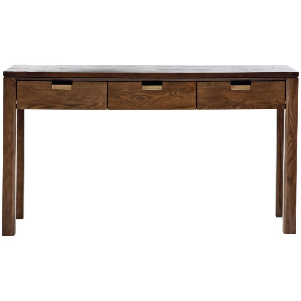 martha stewart living riley warm chestnut desk