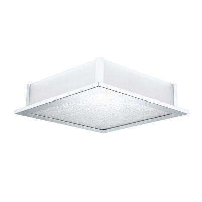 Auriga Crystal 5-Light Chrome Ceiling Light