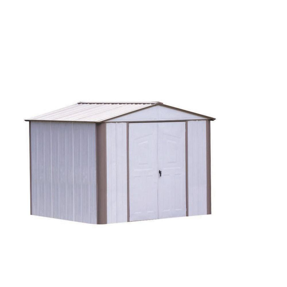 Arrow Ezee Shed 8 ft. x 9 ft. Metal Storage Building-DISCONTINUED
