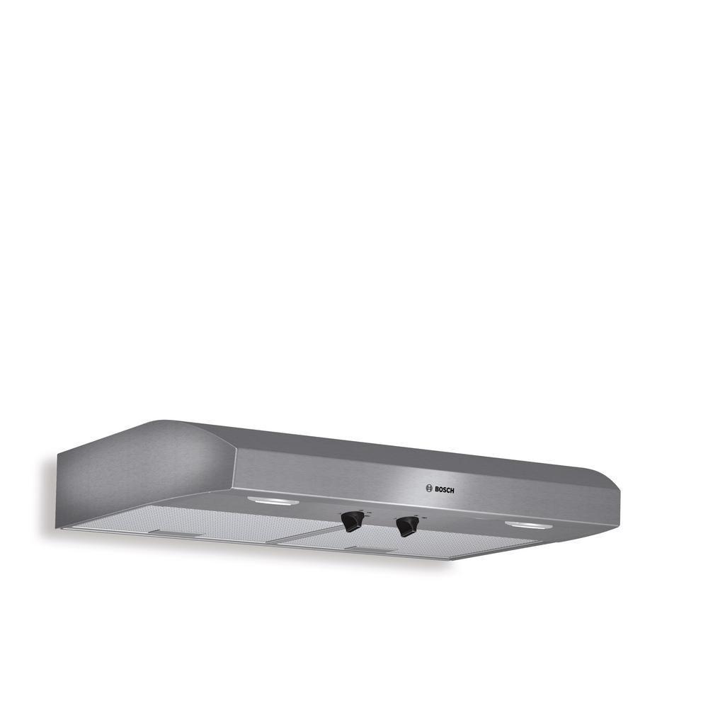 Bosch 500 Series 30 In Undercabinet Range Hood With Lights In Stainless Steel Duh30252uc The Home Depot