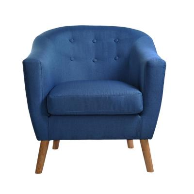 Jason Blue Fabric Tub Chair