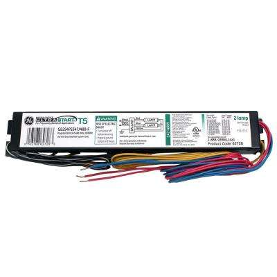 347 to 480-Volt UltraStart Electronic Program/Rapid Start Ballast for T5 Fixture (Case of 10)