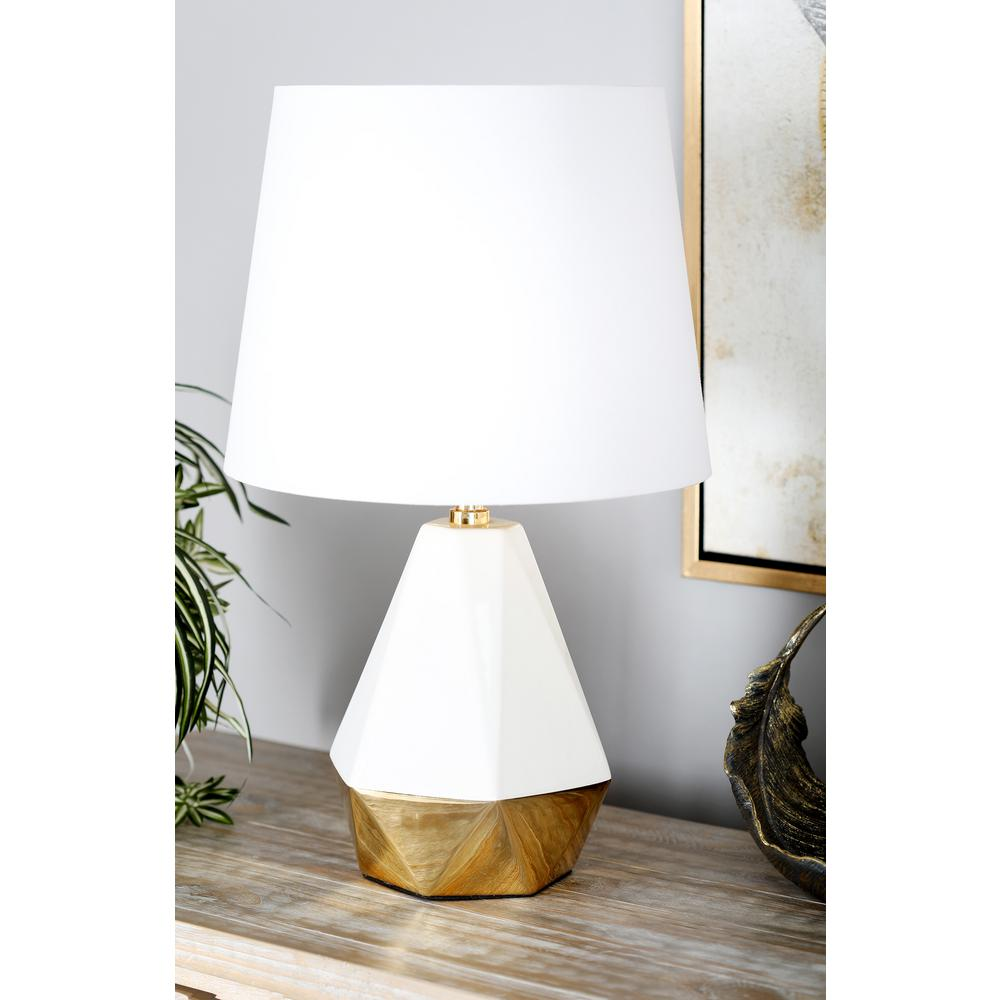 Safavieh Liam 29 In Clear And White Stacked Crystal Ball
