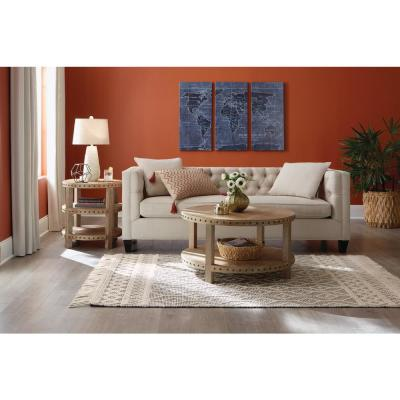 Winchester Cream/Black 2 ft. x 3 ft. Wool Scatter Area Rug
